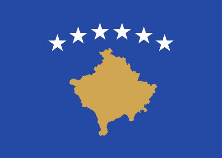 kosovo flag image