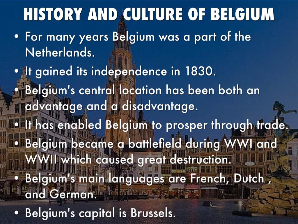 culture of Belgium